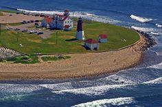 Point Judith Lighthouse, Narragansett, Rhode Island! <3