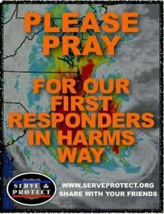 Thank you to all of the first responders