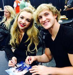 Peyton List and Logan Paul