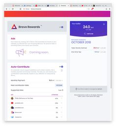 Become a Brave Rewards Creator | Brave Browser Fast Browser, Brave Browser, Web Browser, Brave Software, Tracking Software, Bp Video, Chrome Web, Fast Internet, Going Out Of Business