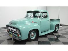 For Sale: 1956 Ford in Lithia Springs, Georgia 1956 Ford Pickup, 1956 Ford Truck, 1956 Ford F100, Ford Trucks For Sale, Old Ford Trucks, Pickup Trucks, Modern Muscle Cars, Ford F Series, Cool Gifts For Kids