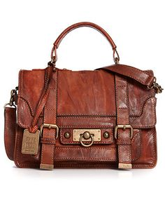 Frye Handbag, Cameron Small Satchel - Satchels - Handbags & Accessories - Macy's  DAMN - THAT'S GORGEOUS!