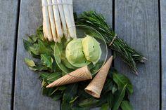 Chřestová zmrzlina Carrots, Vegetables, Kitchen, Recipes, Food, Carrot, Cooking, Vegetable Recipes, Eten