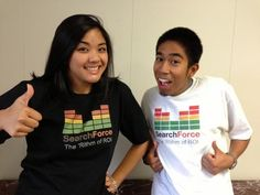 Rockin' the 'Rithm of ROI shirts today! #SEM Follow us for industry news and company updates!