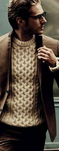 Blazers over sweaters