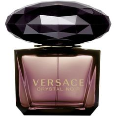 Women's Versace 'Crystal Noir' Eau De Toilette ($95) ❤ liked on Polyvore featuring beauty products, fragrance, perfume, beauty, makeup, parfum, filler, no color, perfume fragrance and edt perfume