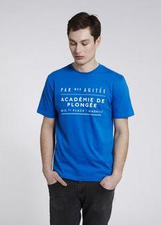 Plongée Clothing | Tee Panneau - T-shirts - Menswear