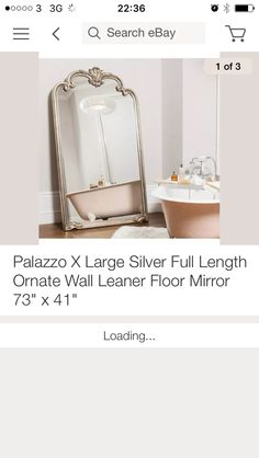 That big standing mirror by Laura Ashley - amazing! | For the Home ...