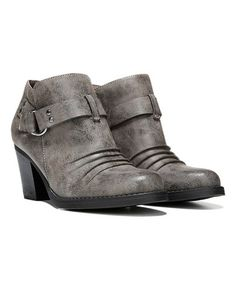 8019bfff117 Look what I found on  zulily! Taupe Monopoly Bootie by Bamboo ...