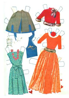 Annette 1963 * 1500 free paper dolls from artist Arielle Gabriel The International Paper Doll Society for Pinterest paper doll pals *