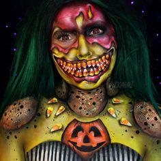The 10 Most Inspirational Halloween Makeup Artists On Instagram. [67 photos]