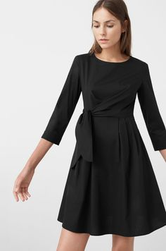 Sukienki i tuniki Eleganckie  - Mango - Sukienka Stripesm