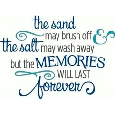 Cute for a beach bag. Silhouette Design Store - View Design sand may brush off memories last forever phrase Scrapbook Quotes, Scrapbook Titles, Scrapbooking Layouts, Beach Scrapbook Layouts, Vacation Scrapbook, Scrapbook Designs, Scrapbook Templates, Baby Scrapbook, Silhouette Design