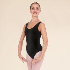 1st Position Cotton Ruched Front & Back Leotard dazzle-dancewear.co.uk
