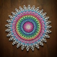 My favorite mandala designs for the moment #crochet_millan Design Happy sunday