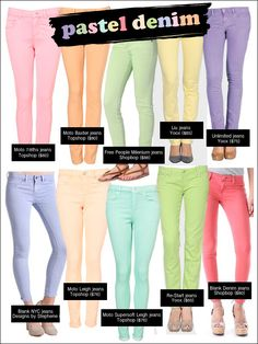 Pastel Jeans!