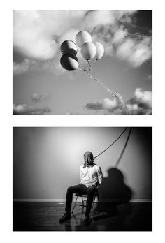 What a heavenly way to die?! Diptych photo composition by Edward Honaker.