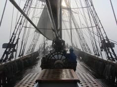 Famous replica of famous HMS Bounty tall ship went down on Oct 29 some 90 miles SE of Hatteras, North Carolina, after encountering a hurricane. Description from w11.zetaboards.com. I searched for this on bing.com/images