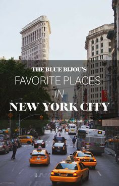 Places To Eat and Places To Go in New York City via TBB