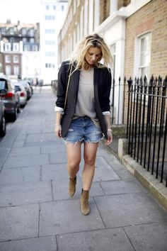The perfect denim short - Anouk Yve | Creators of Desire - Fashion trends and style inspiration by leading fashion bloggers