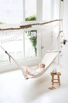 indoor hammock / Sukha Amsterdam