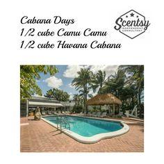Cabana Days Scentsy Recipe