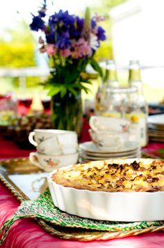Rhubarb and pineapple pie by Hummus & Pannkaka