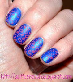 Leopard Matte Nails