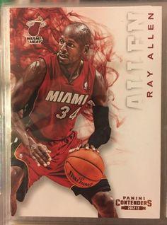 2012 Panini Contenders Ray Allen Miami Heat Near Mint Condition Combined s H | eBay
