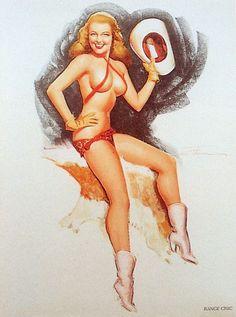 cowgirl in a bandanna bikini
