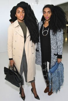 the quann sisters 2016 | 이들의 매력적인 모습을 감상하시죠. Black Girl Swag, Black Girls Rock, Black Girl Magic, Wonder Twins, Tk Wonder, Star Fashion, Fashion Outfits, Women's Fashion, Quann Sisters