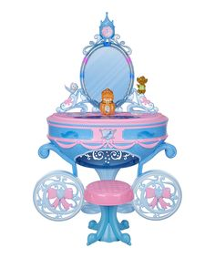 Look at this Disney Cinderella Carriage Vanity on #zulily today!