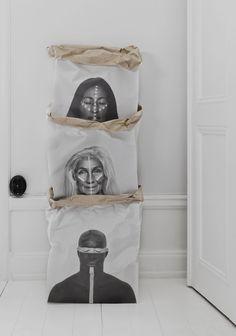 LW Warriors of the world – craft paper bag från Love Warriors - Nytt