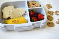 Joseph Joseph Vert Go Eat Lunch Box Carr/ée