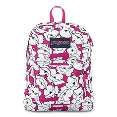 Classic Jansport Superbreak Backpack Cyber Pink Block Floral T5010EG ** You can find more details by visiting the image link.(This is an Amazon affiliate link and I receive a commission for the sales)