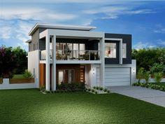 roof line, modern facade