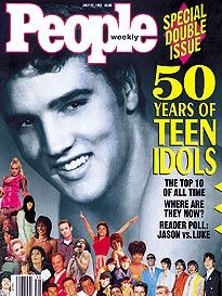 People Weekly 1992 July 27 50 Years of Teen Idols, Special Double issue Magazine Ads, People Magazine, Magazine Covers, Music Magazines, Old Magazines, Good Books, Books To Read, Tiger Beat, King Of Music