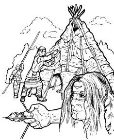 ausmalbilder indianer mandala | mandala | mandalas