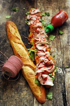 Le bánh mì baguette: Asian-French fusion  http://www.750g.com/recettes_sandwichs.htm