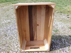 Reclaimed Wooden Storage Crate With Natural by phyllissexton.