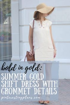 Click to see how to style this summer gold shift dress on Pinteresting Plans! Summer dress outfits classy and summer dress outfits for work. Summer dress outfits party. Summer shift dress classy. Summer shift dress knee length. Cute gold dress short classy and gold dress short parties. Stylish gold dress short simple for a gold dress short  outfit. White dress classy elegant short. Best white dress outfit casual summer and white dress outfit casual street style. #summer #dress #outfit Dress Shorts Outfit, White Dress Outfit, Casual Dress Outfits, Summer Dress Outfits, Casual Summer Outfits, Gold Dress, Short Outfits, Stylish Outfits, Short Dresses