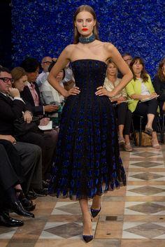 Christian Dior Fall 2012 Couture Fashion Show - Tilda Lindstam