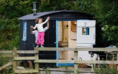 Shepherd's huts are the new country accessory (read the related article in The Telegraph)