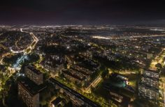 Nocna panorama Wrocławia. #Wrocław#Sky#Tower