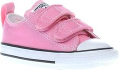 Converse Pink All Star Ox 2v Girls Toddler Converse make getting ready that little bit easier as the All Star Ox 2V lands at schuh. This super cute kids trainer arrives in classic pink fabric. A pull tab and hook-and-loop fastening mean no fus http://www.comparestoreprices.co.uk/january-2017-8/converse-pink-all-star-ox-2v-girls-toddler.asp