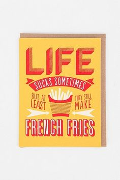 French fries :)