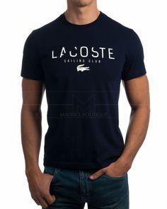 Camiseta Lacoste Azul Marino - Club de Vela