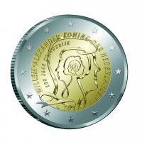 """Nederland bijzondere 2 Euromunten - Nederland 2 Euro 2013 """"200 Jaar Koninkrijk"""""""