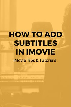 48 Best iMovie Tips & Tutorials images in 2017 | Motion
