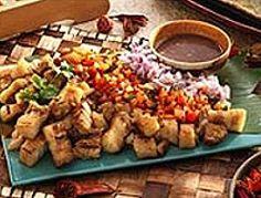 Sinarabasab-Ilokano dish